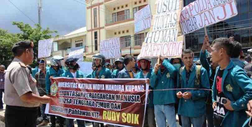 Demo mahasiswa Unwira