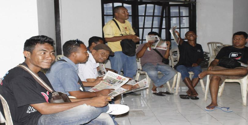 Jurnalis di ende